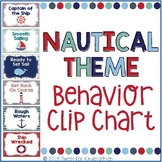 Nautical Theme Behavior Clip Chart