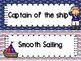 Nautical Theme Behavior Clip Chart