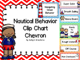 Nautical Behavior Clip Chart -Chevron