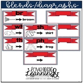 Nautical Theme Blends and Diagraphs Mini Posters