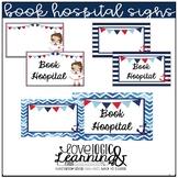 Nautical Theme Book Hospital Sign