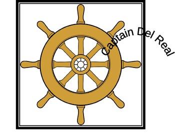 Nautical Theme: Captain Sign