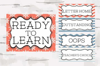 Nautical Theme Classroom Behavior Chart, Teaching decor, Classroom Theme