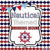 Nautical Theme Classroom Bundle