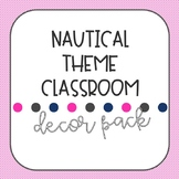 Nautical Theme Classroom Decor Pack