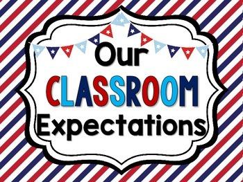 Nautical Theme Classroom Expectations