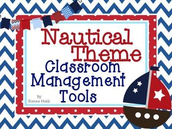 Nautical Theme Classroom Management Tools