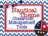 Nautical Theme Classroom Management Tools
