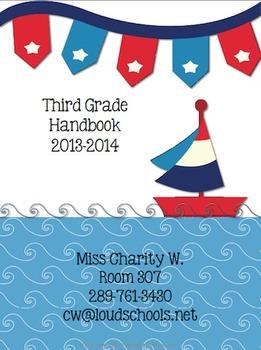Nautical Theme Classroom Parent Handbook