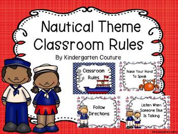 Nautical Classroom Rules