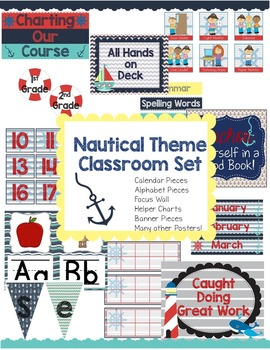 Nautical Theme Classroom Set-Up