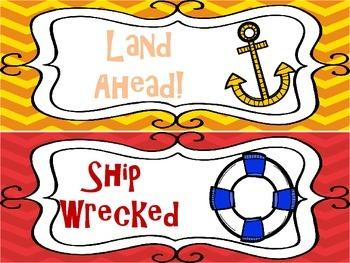 Nautical Theme Clip Chart