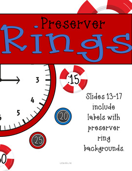 Nautical Theme Clock Labels: Perfect for Your Nautical Classroom Decor