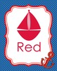 Nautical Theme Color Posters
