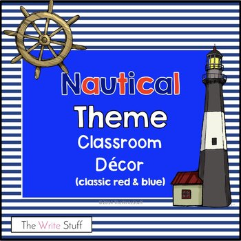 Nautical Theme Decor: Classic