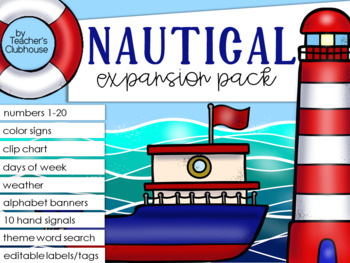 Nautical Theme Decor {Expansion Pack}