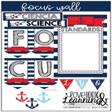 Nautical Theme Focus Wall