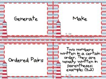 Nautical Theme Grade Five CCSS Complete Vocabulary Program