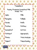 Nautical Theme Grade Two CCSS Complete Vocabulary Program