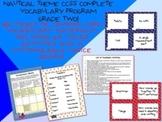Nautical Theme Grade Two CCSS Complete Vocabulary Program