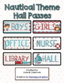 Nautical Theme Hall Passes