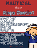 Nautical Theme - MEGA BUNDLE 1 - Classroom Decor