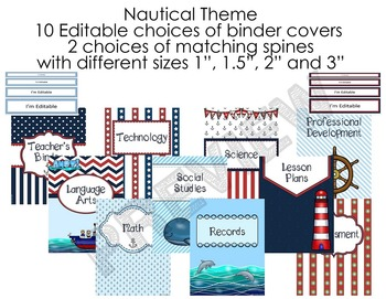 Nautical Theme - MEGA BUNDLE 1 - Classroom Decor
