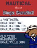 Nautical Theme - MEGA BUNDLE 2 - Classroom Decor