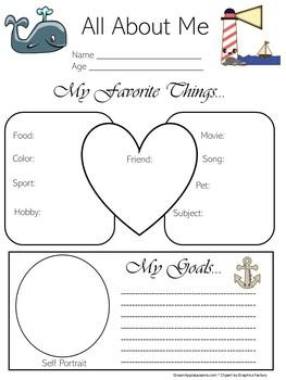 Nautical Classroom Theme   Poster