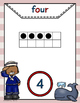 Nautical Theme - Number Posters 1-20 - Classroom Decor