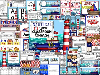 Nautical Theme Decor Pack