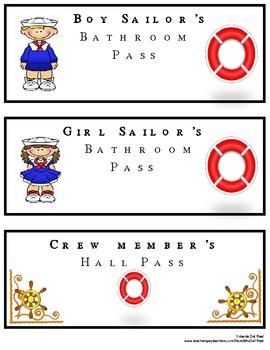 Nautical Theme: Passes