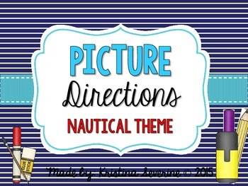 Nautical Theme Picture Directions