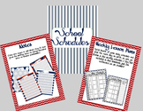 Nautical Theme Planner and Teacher Organizer