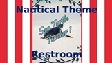 Nautical Theme Restroom Passes