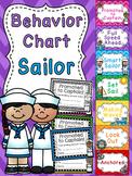 Nautical Theme Sailor Behavior Clip Chart