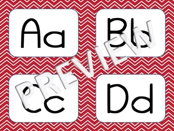Nautical Theme Word Wall Letters