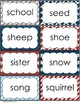 Nautical Theme - Word Wall Word Cards - Classroom Decor