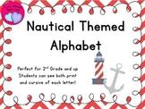 Nautical Themed Alphabet