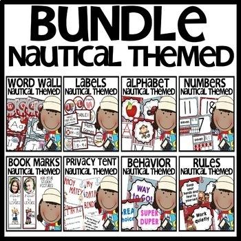 Nautical Themed BUNDLE