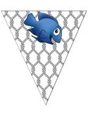 Nautical Themed Banner - Catch of the Day