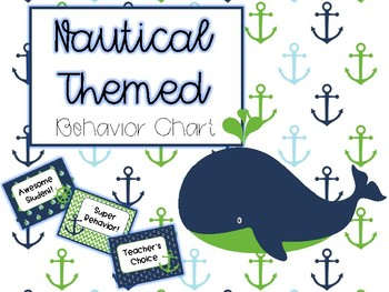 Nautical Themed Behavior Chart