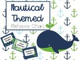 Nautical Themed Behavior Chart