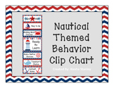 Nautical Themed Behavior Clip Chart