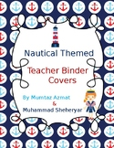 Nautical Themed Binder Covers and Spines: