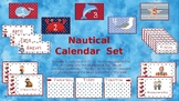 Nautical Themed Calendar Set - English and Spanish