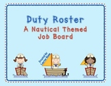 Nautical Themed Class Job Board