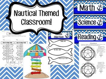Nautical Themed Classroom!