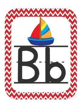 Nautical Themed Classroom ABC Printables (with pictures)