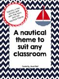 Nautical Themed Classroom (organization and decor)